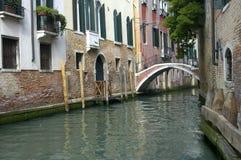 运河威尼斯 库存图片