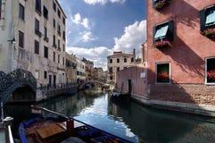 运河威尼斯 免版税图库摄影
