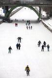 运河安大略渥太华rideau溜冰者 免版税库存图片