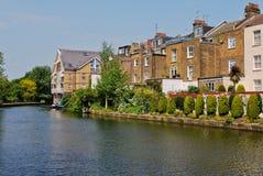 运河安置伦敦 免版税库存图片