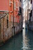 运河安置威尼斯 免版税图库摄影