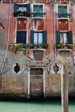 运河安置威尼斯 免版税库存照片