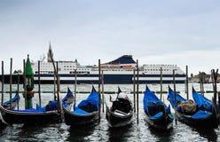 运河巡航的意大利威尼斯 免版税库存图片