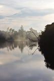 运河抄网正方形 库存照片