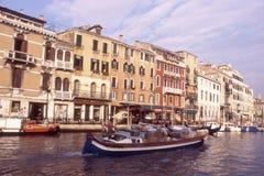 运河极大的威尼斯 免版税库存照片