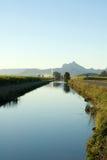 运河灌溉 库存图片