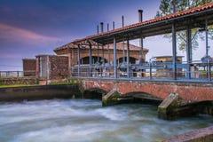 运河的神色 免版税库存图片