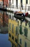 运河系列威尼斯 免版税图库摄影