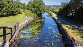 运河自然保护 库存照片