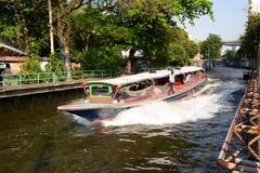 运河船 曼谷泰国 免版税库存照片