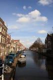 运河荷兰语 库存照片