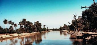 运河视图 库存照片