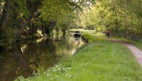 运河路径 库存照片