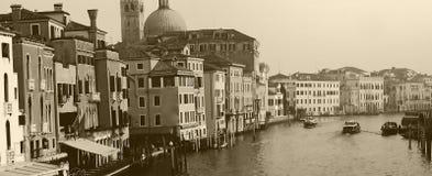 运河重创的意大利威尼斯 免版税库存图片