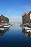 运河重创的意大利的里雅斯特 库存照片