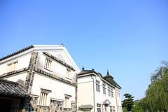 运河镇在日本 免版税库存图片