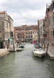运河,威尼斯,意大利 免版税图库摄影
