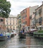 运河,威尼斯,意大利 库存图片