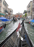 运河,威尼斯,意大利 图库摄影