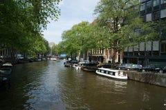 运河 欧洲 库存照片