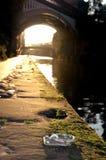 运河castlefield 图库摄影