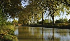 运河du密地 免版税库存照片