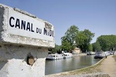 运河du密地 图库摄影