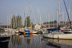 运河harlingen 免版税库存照片