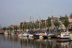 运河harlingen 库存照片