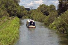 运河stratford 免版税库存图片