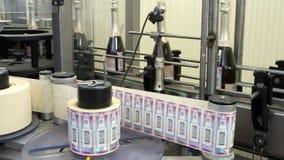 运用酒类产品的机器消费税邮票 影视素材