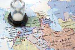 运行的叙利亚时间 库存照片