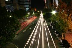运行街道 图库摄影