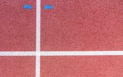 运行 横跨地 体育场 体育运动 线路 免版税库存图片