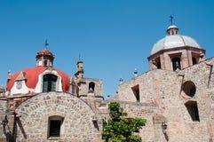 运货马车的车夫女修道院el墨西哥墨瑞利亚 免版税库存照片