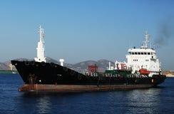 运费船 免版税库存图片
