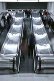 电梯台阶盒-高峰时间 免版税图库摄影