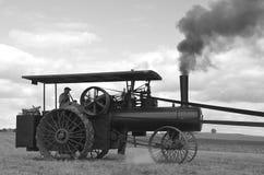 运转的蒸汽引擎 免版税库存图片