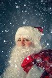 运载克劳斯礼品圣诞老人 库存图片
