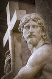 运载十字架的基督 库存图片