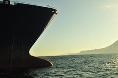 运载气体液化天然气自然船 免版税库存图片