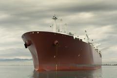 运载气体液化船 库存照片