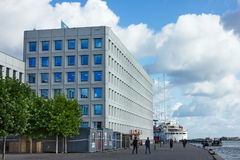 Maersk办公室在哥本哈根 免版税图库摄影