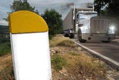 运输卡车 库存照片