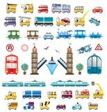 运输向量 免版税图库摄影