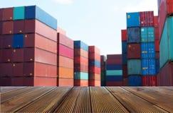 运输和后勤学运输产业 免版税库存图片