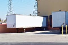 运输和拖拉的工业负荷区 图库摄影