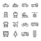 运输和车 免版税库存图片