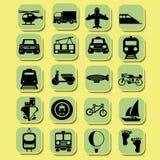 运输图标 免版税库存照片
