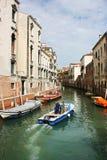 运输在威尼斯 库存照片